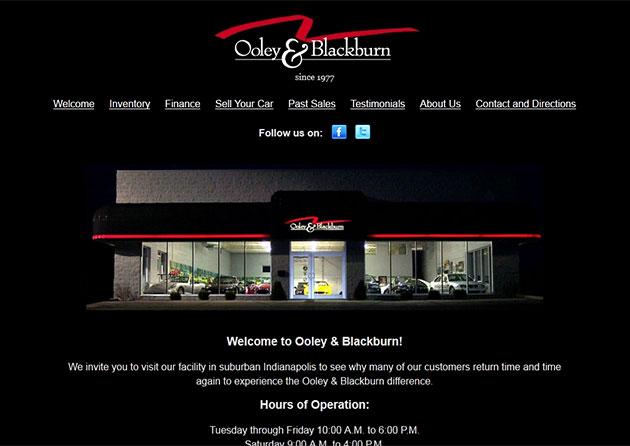 Ooley and Blackburn