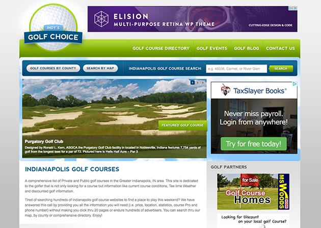 Indys Golf Choice