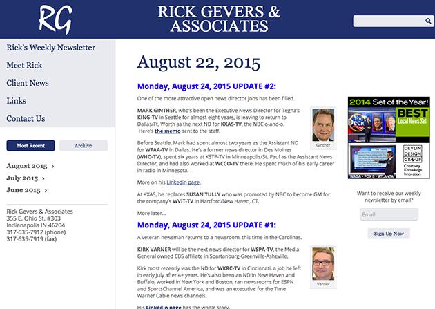 Rick Gevers and Associates