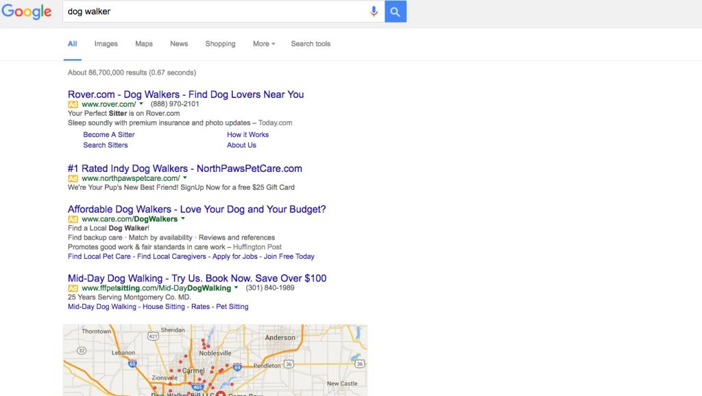Google Eliminates Text Ads on Sidebar | Steerpoint