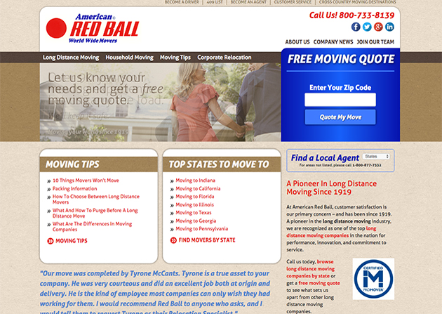 Red Ball – Recode responsive
