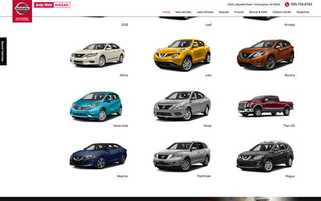 Andy Mohr Nissan – Email Marketing