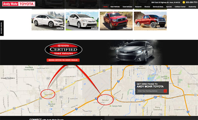 Andy Mohr Toyota – Email Marketing
