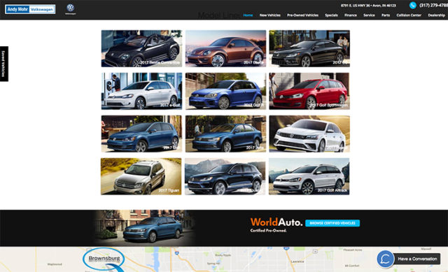 Andy Mohr Volkswagon – Email Marketing