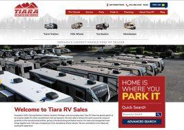 TiaraRV Sales