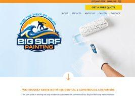 Big Surf Painting